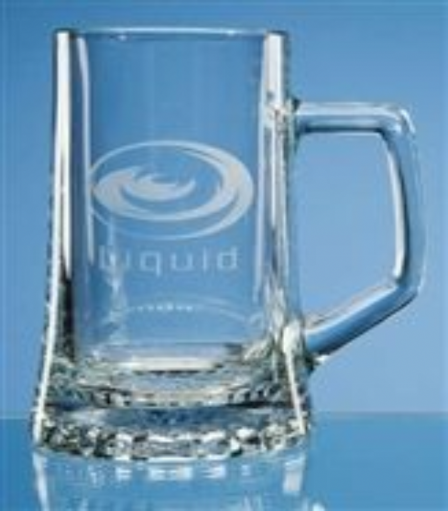 Stern Glass Beer Mug